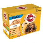 Pedigree Vital Senior portionsposer  - blandet pakke