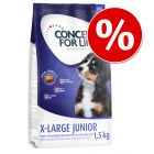 50% popust: Concept for Life X-Large Junior in Puppy 1,5 kg
