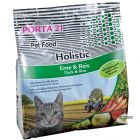 Porta 21 Holistic Cat com pato e arroz
