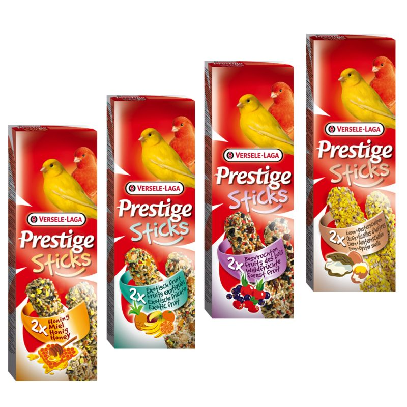 Prestige Sticks for Canaries Mixed Pack