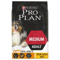 Pro Plan Medium Adult Optibalance - Kip & Rijst