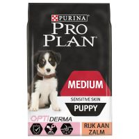 Pro Plan Medium Puppy Optiderma - Zalm & Rijst