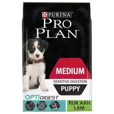 Pro Plan Medium Puppy Optidigest - Kip & Rijst