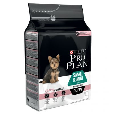 PRO PLAN Small & Mini Puppy Sensitive Skin OPTIDERMA