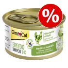 Probeerprijs! 2 x 70 g GimCat Superfood ShinyCat