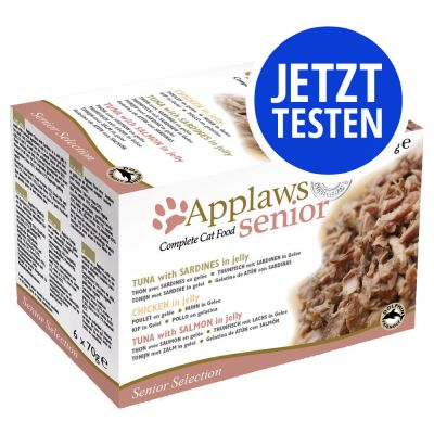 Probierpaket Applaws Senior Dose in Jelly 6 x 70 g