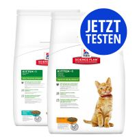 Probierpaket Hill's Science Plan Kitten Healthy Development 2 x 400 g