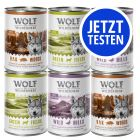 Probierpaket Wolf of Wilderness Adult 400 g