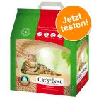 Probierpreis: 5 l Cat's Best Öko Plus / Original Katzenstreu