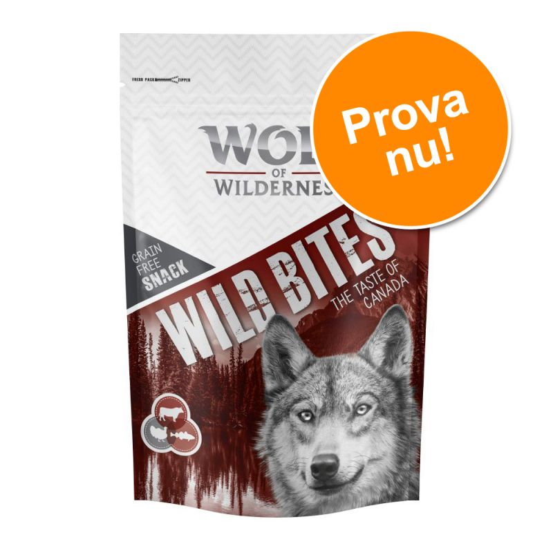 Prova nu! Wolf of Wilderness Snack Wild Bites 180 g - The Taste of
