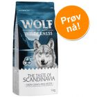 Prøvepakke: Wolf of Wilderness The Taste of... - 1 kg tørrfôr