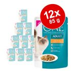 Purina ONE para gatos 12 x 85 g - Pack económico
