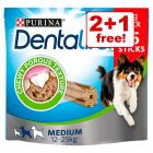Purina Dentalife Dog Snacks - 2 + 1 Free!*