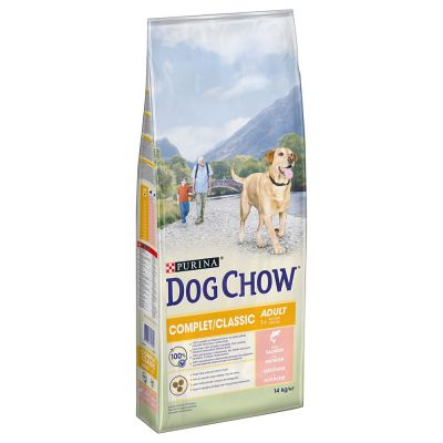 Purina Dog Chow Complet/Classic con Salmone