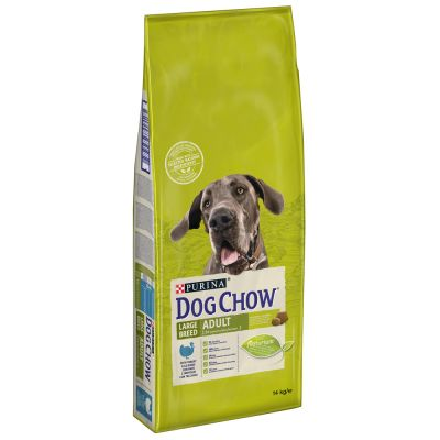Purina Dog Chow Large Breed Turkey, indyk