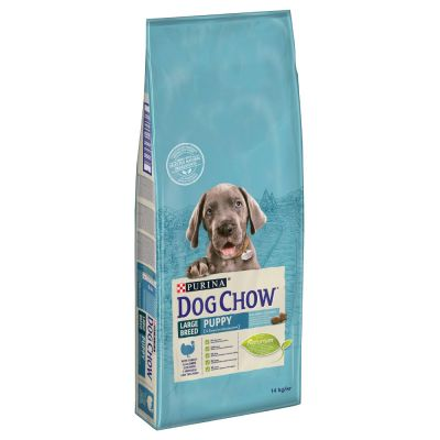 Purina Dog Chow Puppy Large Breed con pavo