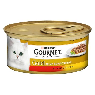 Purina Gourmet Gold Doble Placer 24 x 85 g - Pack Ahorro