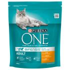 Purina ONE Adult Pui și cereale integrale