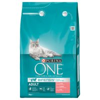 Purina ONE Bifensis Adult salmão e cereais integrais