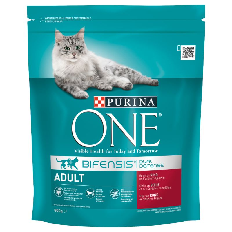 Purina ONE Bifensis Adult vaca e cereais integrais