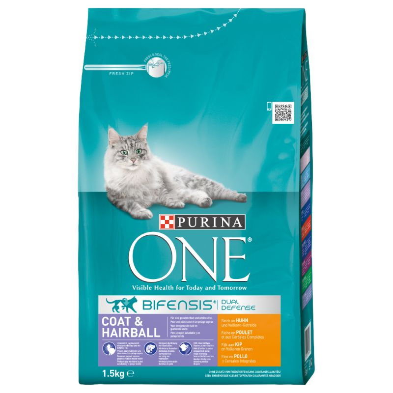 Purina ONE Bifensis Coat & Hairball
