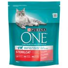 Purina ONE Bifensis Gatos esterilizados salmón