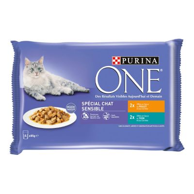 PURINA ONE Chat Sensible 4 x 85 g
