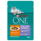 Purina ONE Coat & Hairball 6 x 85 g