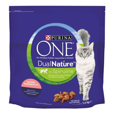 PURINA ONE Dual Nature saumon pour chat