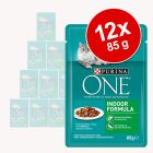 Purina One Indoor Formula 12 x 85 g