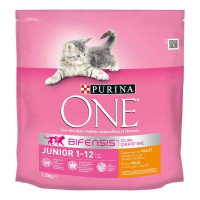 PURINA ONE Junior 1-12 mois poulet pour chaton