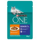 Purina ONE Senior 7+ Chicken 6 x 85 g