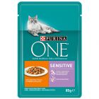 Purina ONE Sensitive,  6 x 85 g