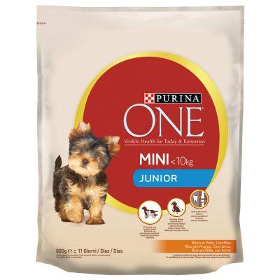 Purina One Small Breed Junior Chicken Rice