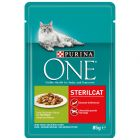 Purina One Sterilised Kattenvoer 6 x 85 g