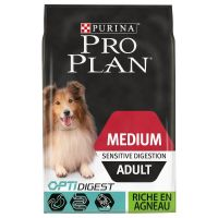 PURINA PRO PLAN Medium Adult Sensitive Digestion agneau