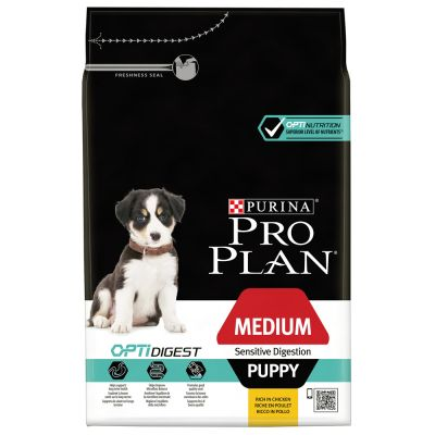 Purina Pro Plan Medium Puppy OptiDigest pollo