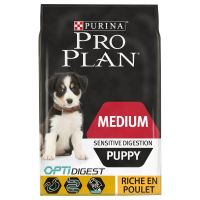 PURINA PRO PLAN Medium Puppy Sensitive Digestion poulet