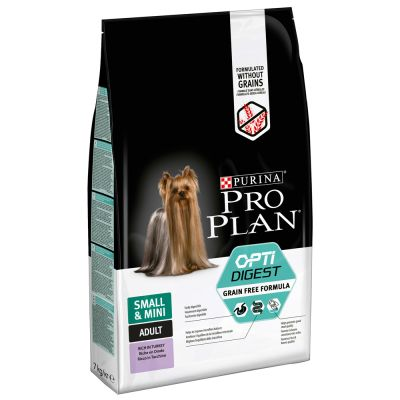 Purina Pro Plan Small & Mini Adult OptiDigest sin cereales