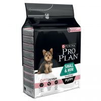 Purina Pro Plan Small & Mini Puppy OptiDerma salmón