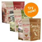 Purizon Dog Snacks Grain-Free Mixed Trial Pack 3 x 100g