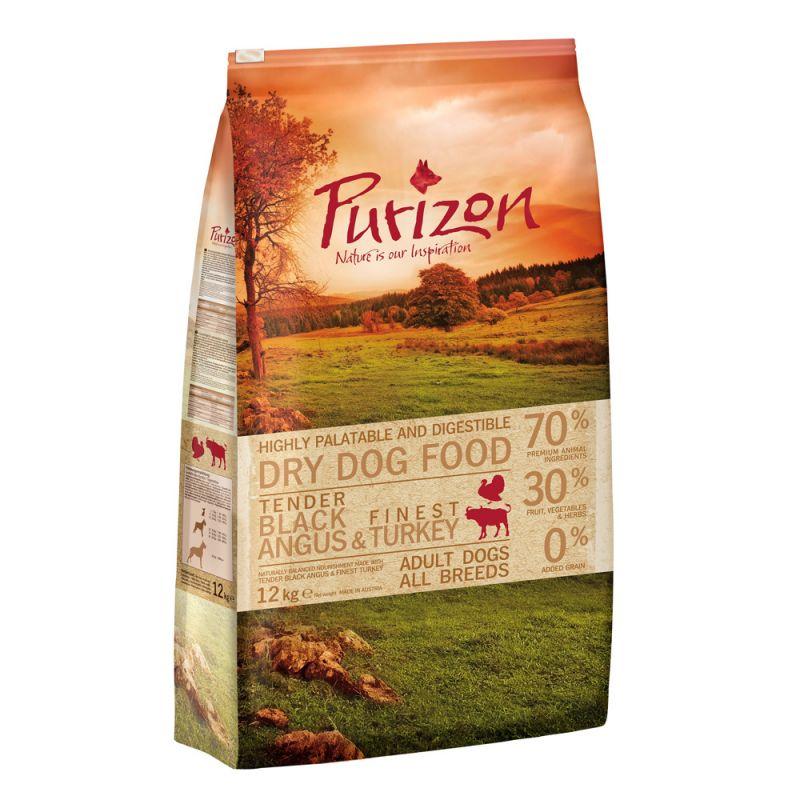Purizon Adult Black Angus & Turkey – Grain-Free