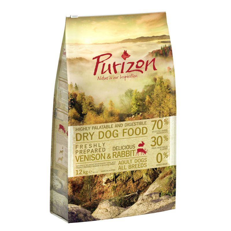 Purizon Adult Dog - Grain-Free Venison & Rabbit