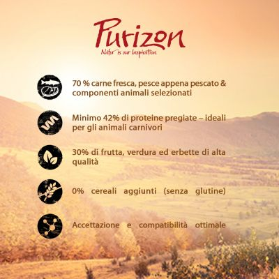 Purizon Adult Gatto - Cervo & Pesce