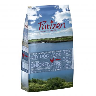 Purizon Puppy poulet, poisson - sans céréales pour chiot