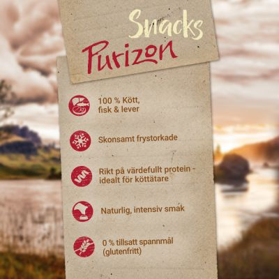 Purizon Snack Chicken & Fish - spannmålsfritt