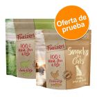 Purizon snacks para gatos 2 x 40 g - Pack mixto