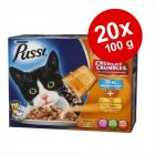 Pussi Sensations Crunchy 20 x 100 g + 80 g topping