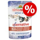 15 % rabatt! Almo Nature HFC Alternative Cat 6 x 55 / 70 g