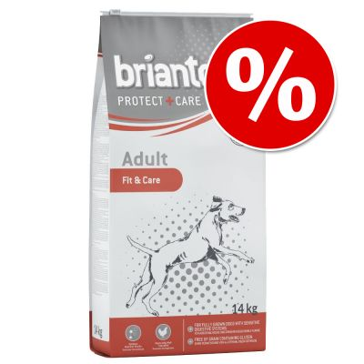 5 € Rabatt auf 14 kg Briantos Protect + Care